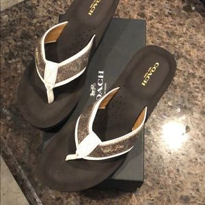 Women's Coach sandals